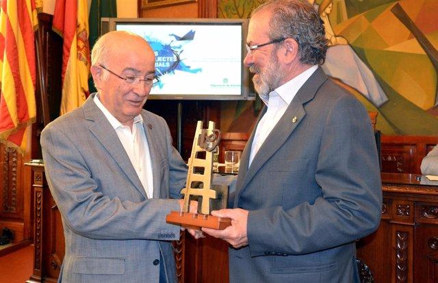 Joan Reñé con Lluís Pagès
