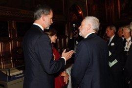 El Rey Felipe VI mantiene un encuentro con el líder de los laboristas británicos, Jeremy Corbyn