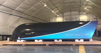 Hyperloop One realiza con éxito la primera prueba a escala completa de su tren ultrarrápido