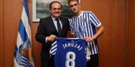 La Real Sociedad anuncia el fichaje de Januzaj hasta 2022