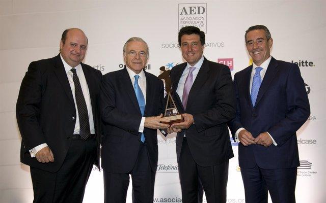 Entrega del Premio AED a Ismael Clemente