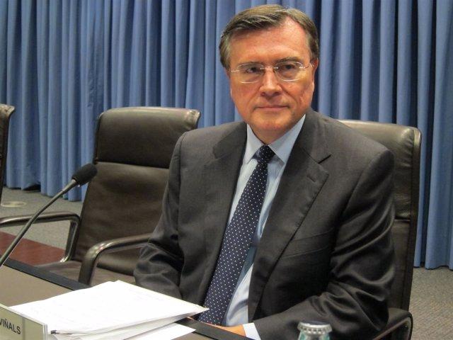 El director de asuntos monetarios y mercados de capitales del FMI, José Viñals