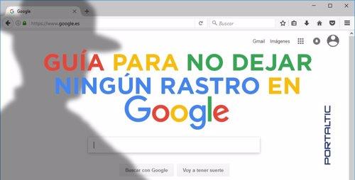 No dejar rastro en Google