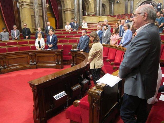 El Parlament recuerda a Miguel Ángel Blanco