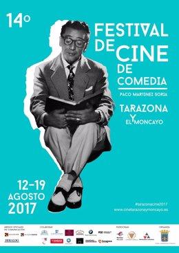 Cartel del XIV Festival de Cine de Comedia de Tarazona y el Moncayo