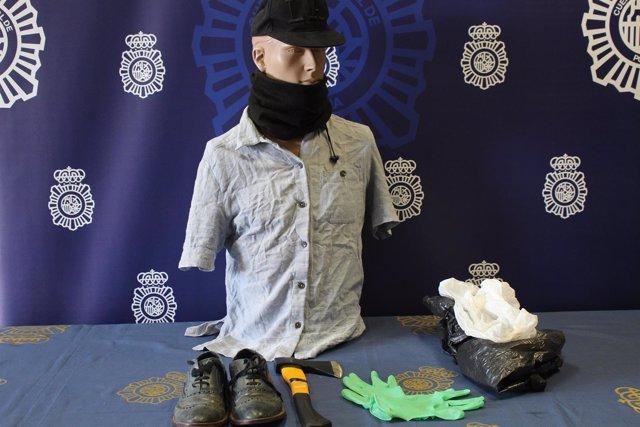 """""""Detenido Un Sexagenario En Madrid Por Intentar Atracar Con Un Hacha Una Sucursa"""