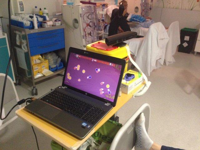 Imagen del juego de realidad virtual testado por investigadores del CEU-UCH