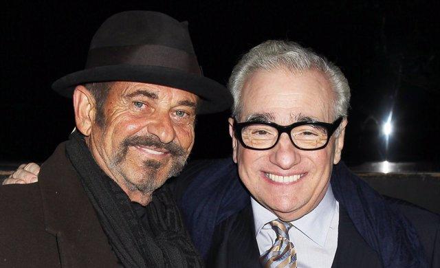 Joe Pesci junto a Marin Scorsese