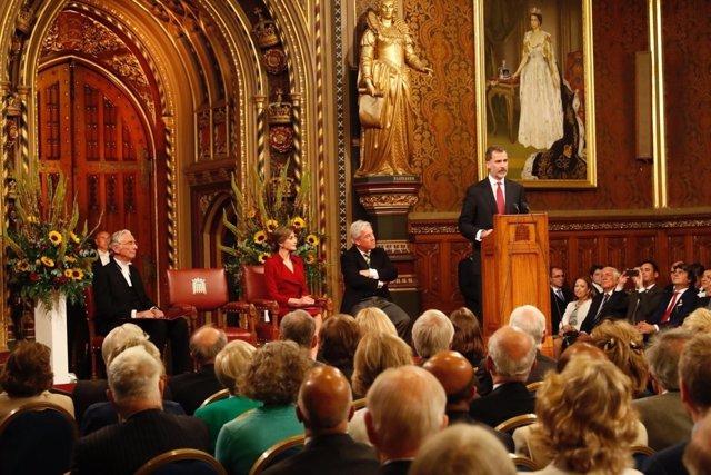 Discurso del Rey Felipe ante el Parlamento de Reino Unido