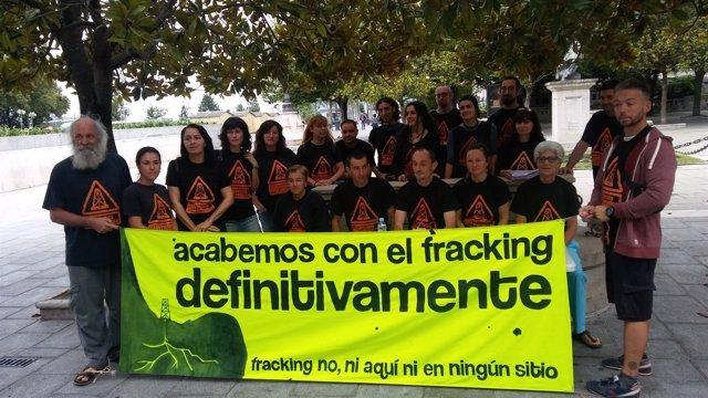 Asamblea contra el fracking