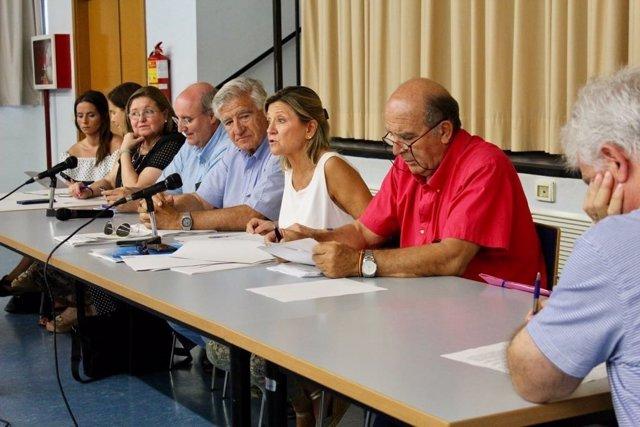 Pleno de la Junta Municipal Centro de Zaragoza