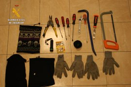 Detenidos dos miembros de un grupo itinerante dedicado al robo en bares