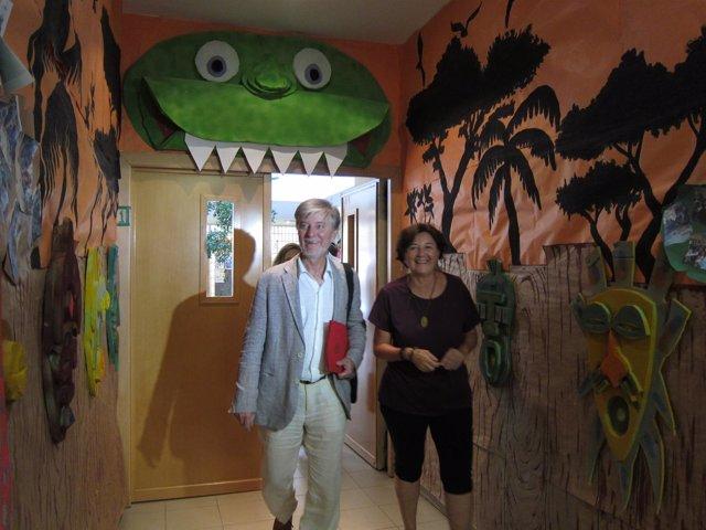 Santisteve ha visitado hoy el CTL Capuzón en el barrio de Torrero