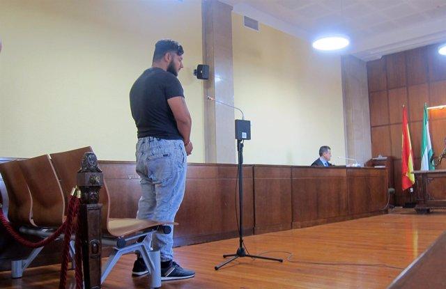 M.C.M declara en el juicio acusado de bañar a su bebé en agua hirviendo.
