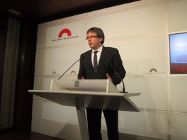 La conferencia de Puigdemont en Madrid sobre el referéndum costó 11.458 euros