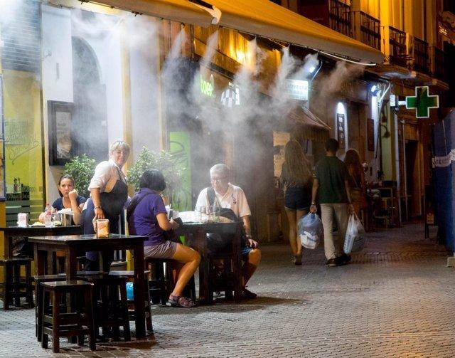 Calor, verano y altas temperaturas en Sevilla