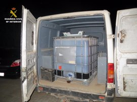 Investiga a dos personas por robar 1.000 litros de gasóleo en Casas de Haro