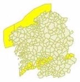Aviso por temperaturas superiores a los 36º en parte de Galicia.
