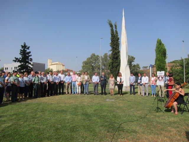 Homenaje a Miguel Ángel Blanco y la víctimas del terrorismo