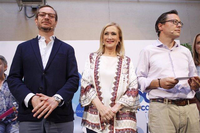 Javier Maroto y Cristina Cifuentes presentan la Ruta Social del PP de Madrid