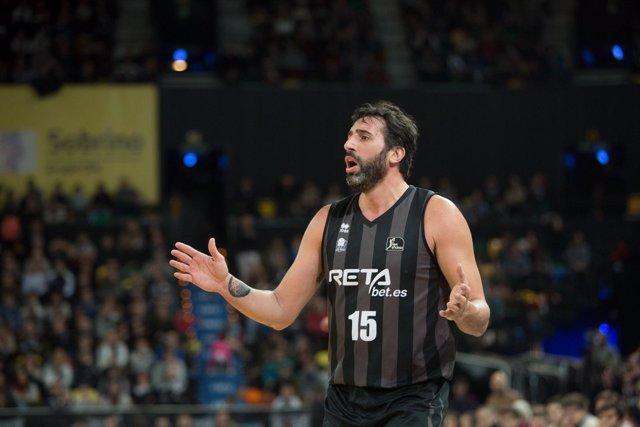 Alex Mumbrú en el Retabet Bilbao Basket - Herbalife Gran Canaria
