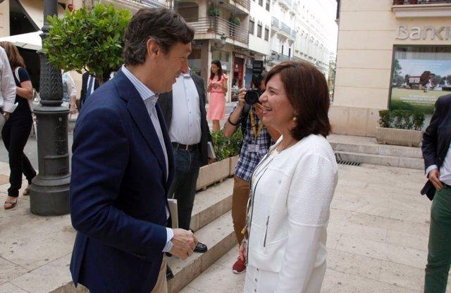 Hernando y Bonig se reúnen en Valencia