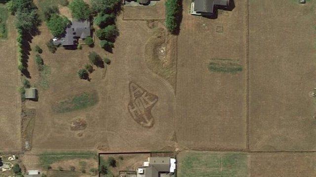 Vía Google Earth