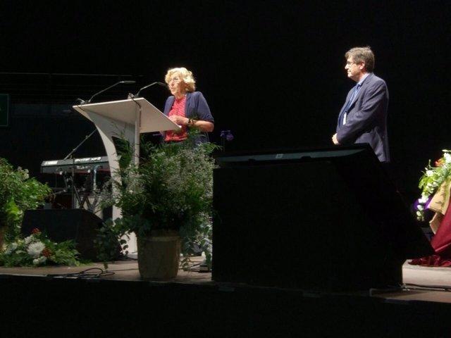 La alcaldesa de Madrid interviene en el VIII Congreso Evangelista de la FEREDE
