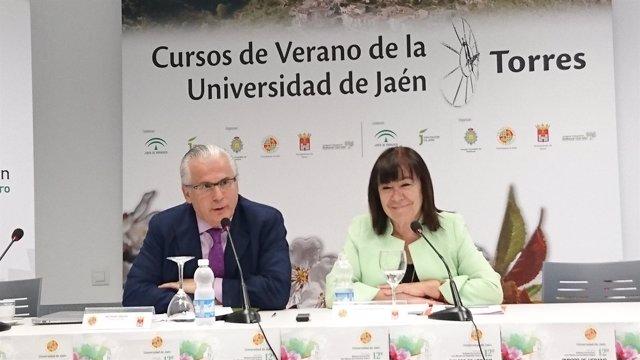 Cristina Narbona y Baltasar Garzón