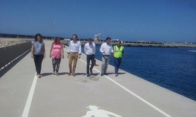 Marc Pons puerto de Ciutadella
