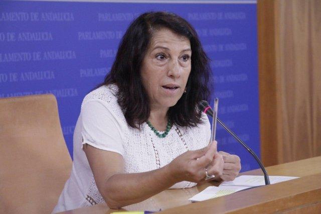 La diputada de Podemos por la provincia de Sevilla, María García Bueno