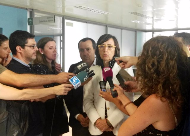 Rosa Aguilar, consejera de Justicia