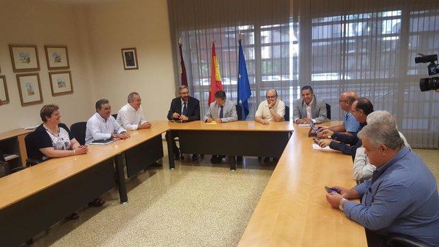 Reunión Pacto Regional del Agua