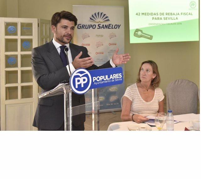 Beltrán Pérez explica medidas de rebaja fiscal