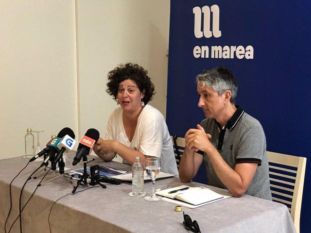 Ana Seijas y Gonzalo Rodríguez (En Marea)