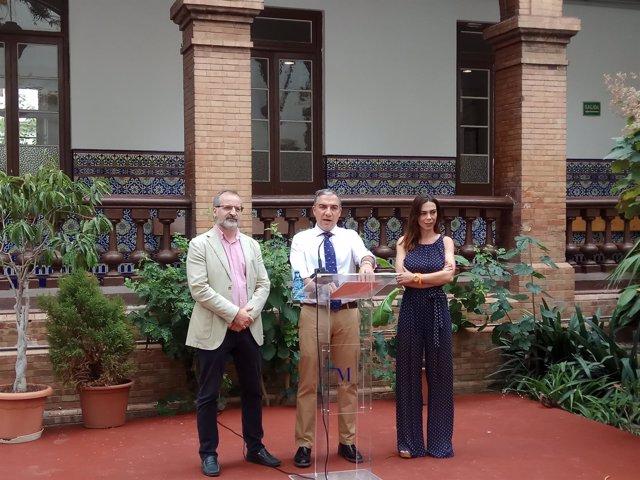 Gonzalo Sichar, Bendodo y Teresa Pardo Ciudadanos Cs PP balanc mandato diputació