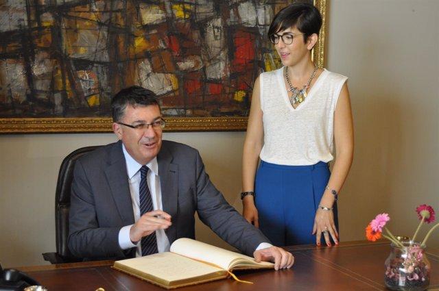 Enric Morera y Violeta Barba