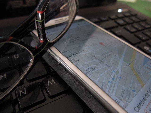 Tecnologías, turismo, Maps, Google, Málaga, TIC, ordenador, Smartphone