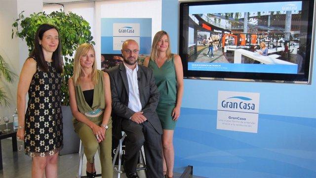 Presentación del nuevo espacio innovador de ocio y restauración de GranCasa