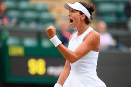 Muguruza arrolla a la eslovaca Rybarikova y se jugará Wimbledon con Venus Williams