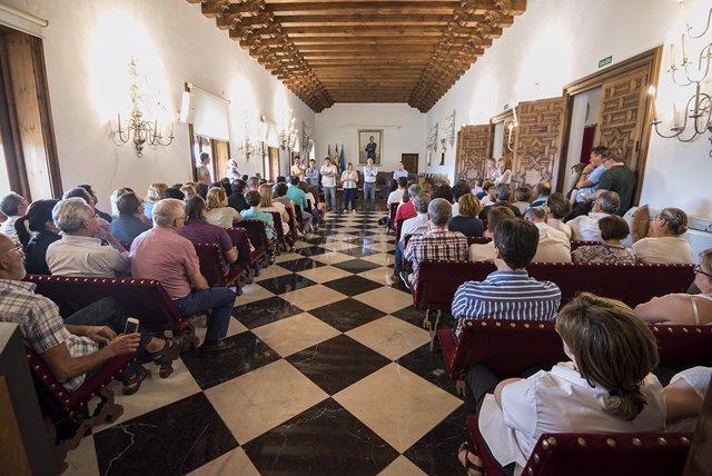 Nota Reunión Presidenta Trabajadores Diputación