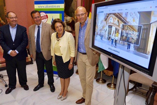 Nota De Prensa Y Foto Nueva Web Comerciantes Centro