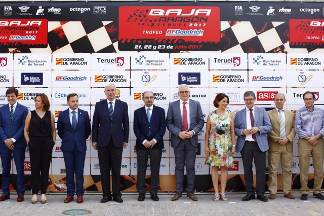Presentación de la Baja Aragón 2017