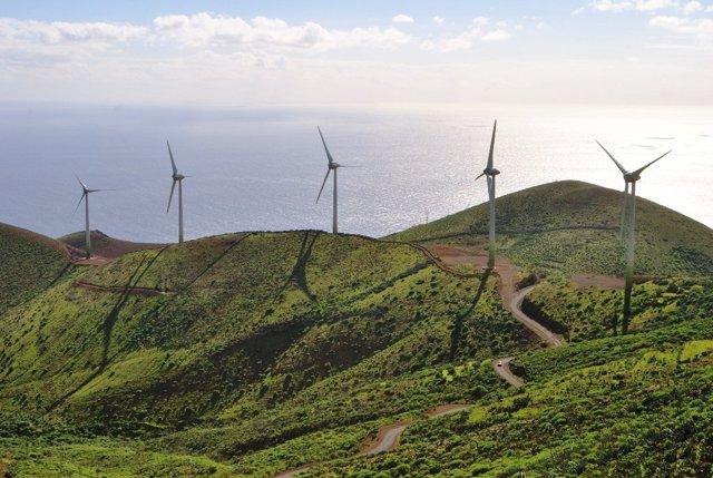 Parque Eólico de la Central Hidroeólica de El Hierro