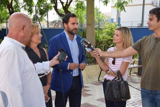 Dani Pérez visita Las Delicias