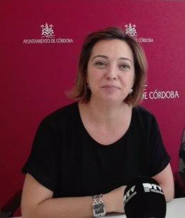 La alcaldesa de Córdoba, Isabael Ambrosio