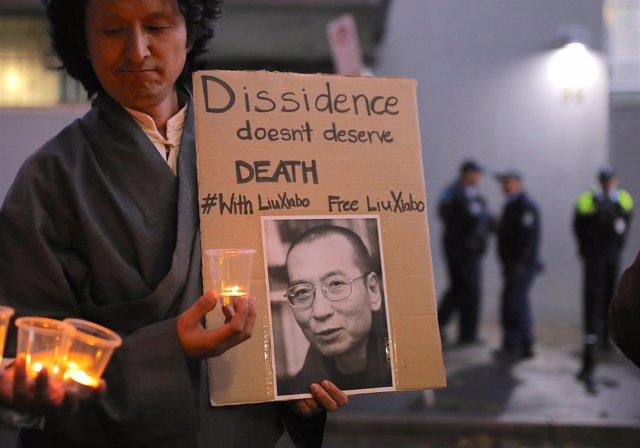 Homenaje a Liu Xiaobo