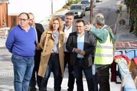 """El PSOE exige al Gobierno del PP que """"reactive cuanto antes"""" las obras de la depuradora de Nerja"""