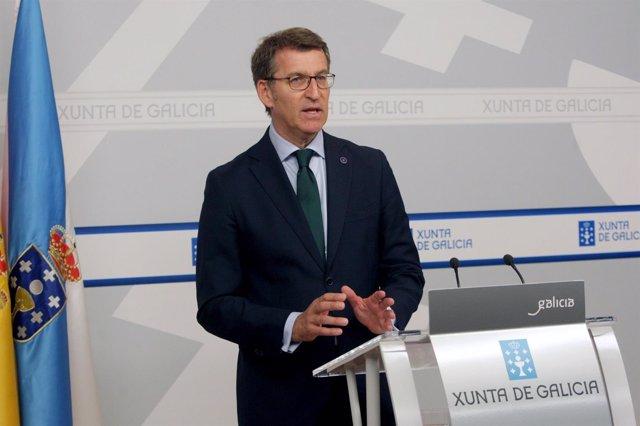 O Titular Do Goberno Galego, Alberto Núñez Feijóo,  Comparecerá En Rolda De Pre