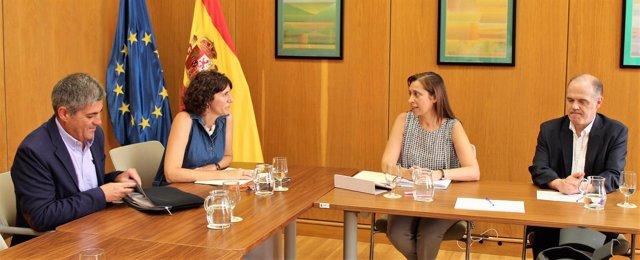 Runión entre Baleares y la directora general del Agua